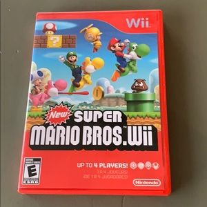 Wii super Mario brothers